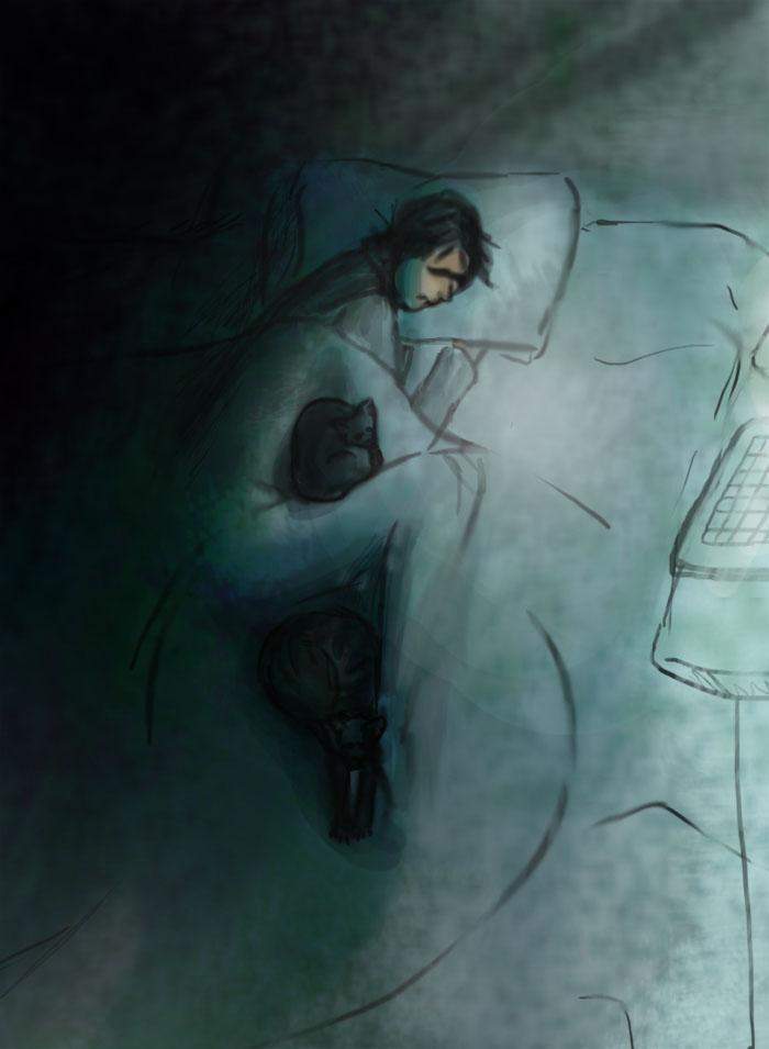 How We Sleep by initialaitch