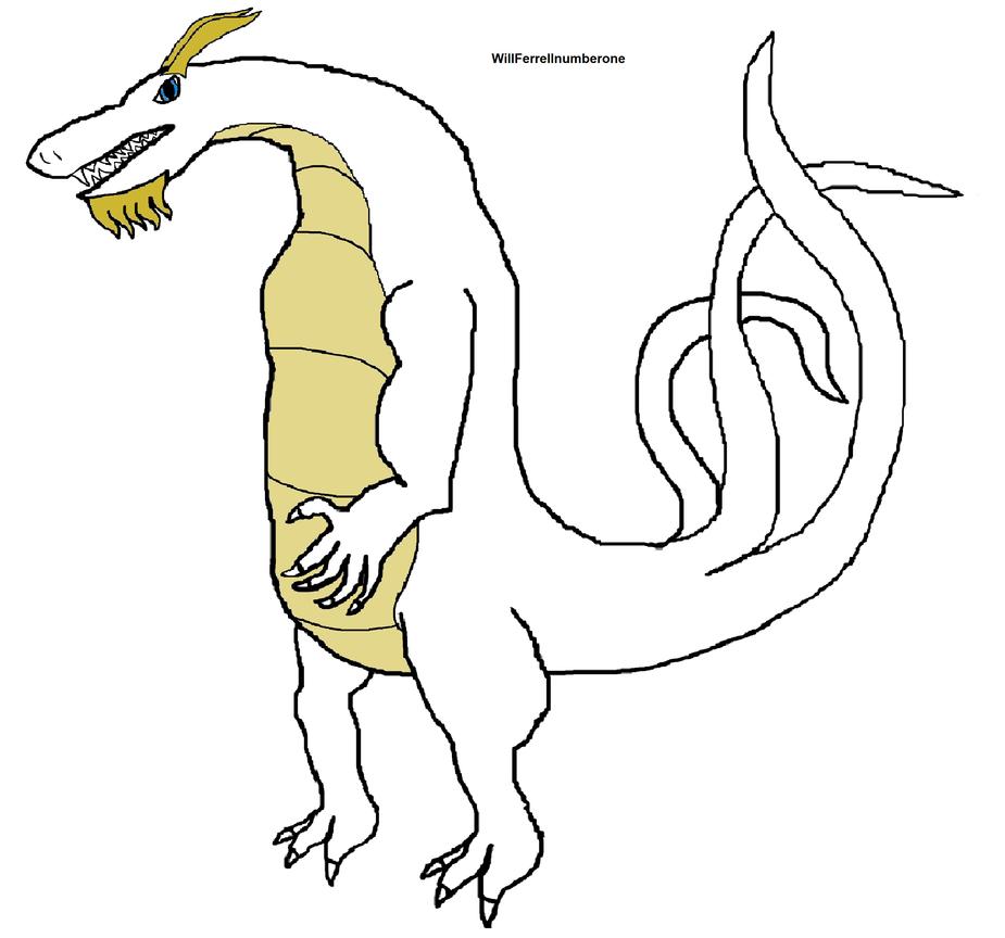 WillFerrellnumberone's kaiju form by ProtanaArchives94