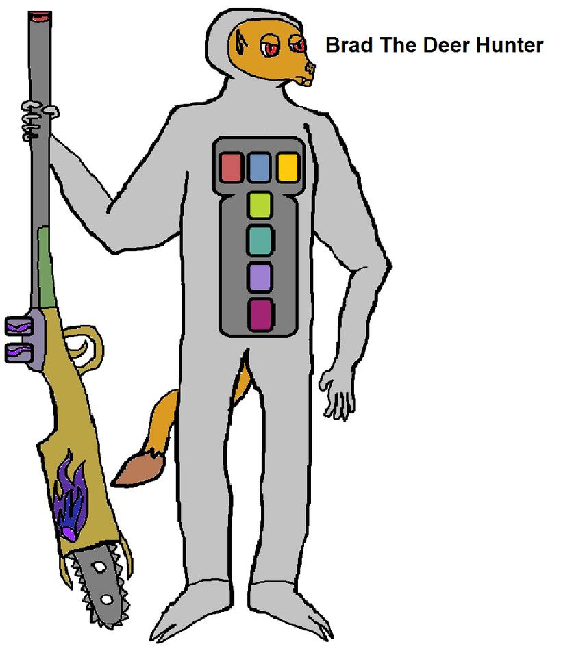 Brad the Deer Hunter by ProtanaArchives94