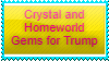 Crystal and Homeworld Gems for Trump stamp by ProtanaArchives94