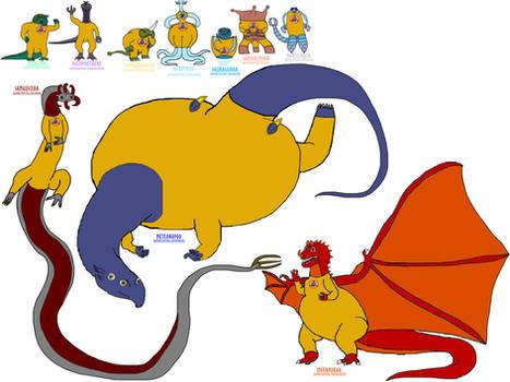 The 10 United Sapient Animal Races of Planet Jotu