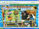 Over the Hedge Website Desktop