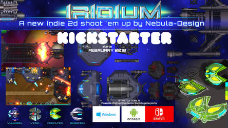 Iridium Game - Promo for Kickstarter
