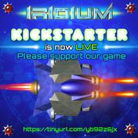 IRIDIUM Game - Kickstarter is LIVE