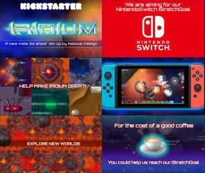 IRIDIUM Game - Kickstarter 5 Days to go