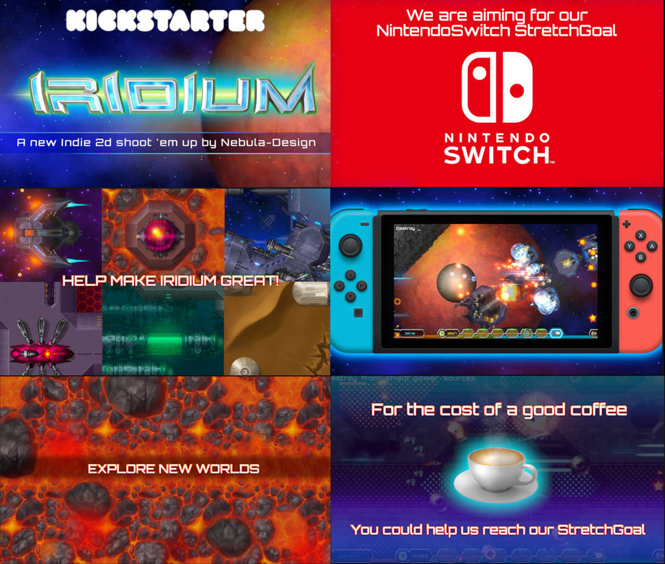 IRIDIUM Game - Kickstarter 5 Days to go by inventivedreams