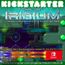 IRIDIUM Game - Kickstarter Last Day