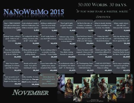 NaNo 2015 Dragon Age Inquisition