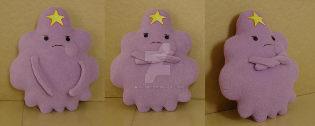 Adventure Time - Lumpy Space Princess plushie by gocholudek