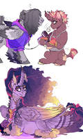 Poeticverse: Purple Ponies are Important