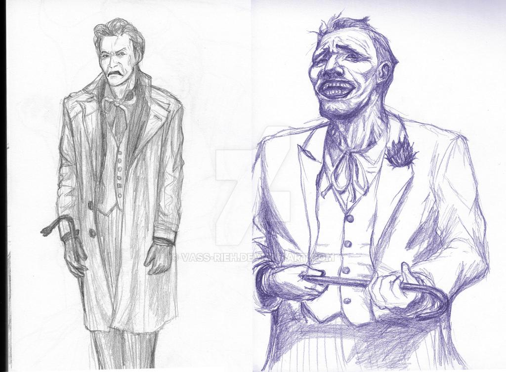 Joker double crowbar Sketch by Vass-RieH