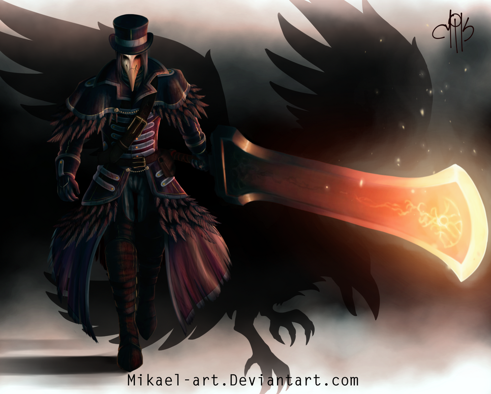 Raime the Crow Hunter by Mikael-Art