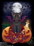Hallowcat by Mikael-Art