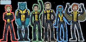 X-Men: MUTANT POWER, MAKE UP by sparkyHERO