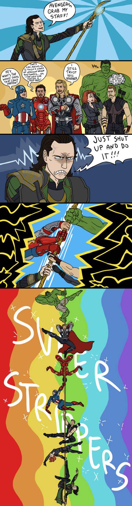 Avengers: Strippers Assemble