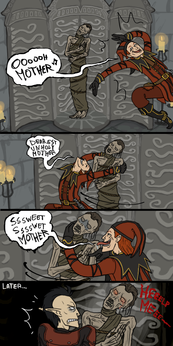 Skyrim: Oh, Mother by sparkyHERO