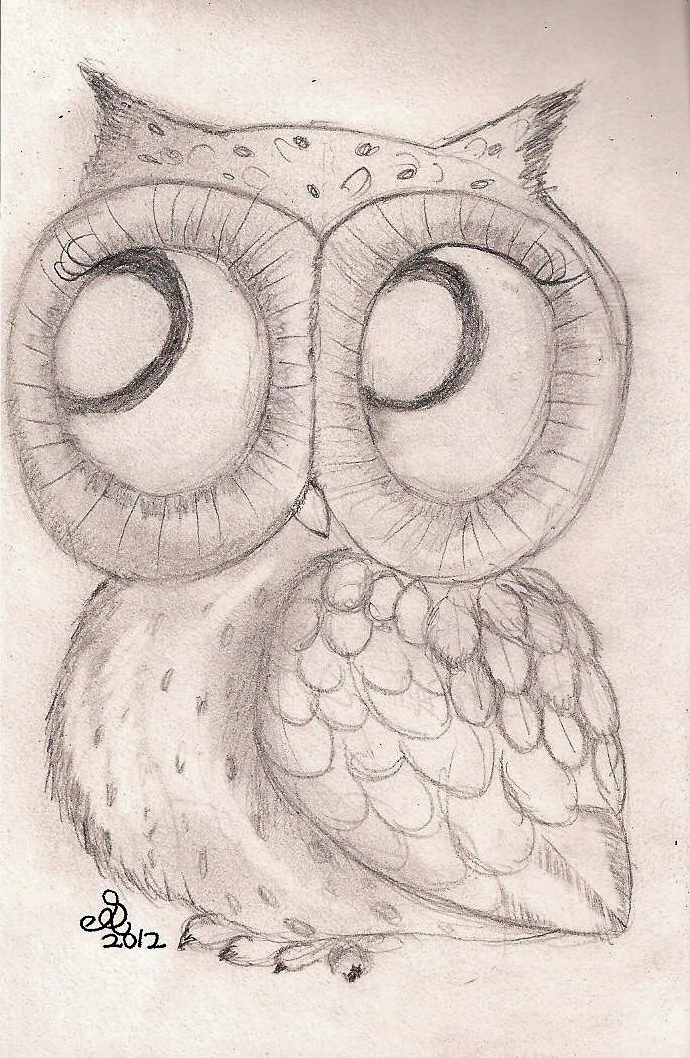 Vintage Owl by InkyDreamz