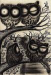 Original Artwork - Sooty Owl Journal @ my shop