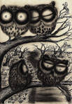 Original Artwork - Sooty Owl Journal @ my shop