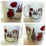 Owls At Teatime