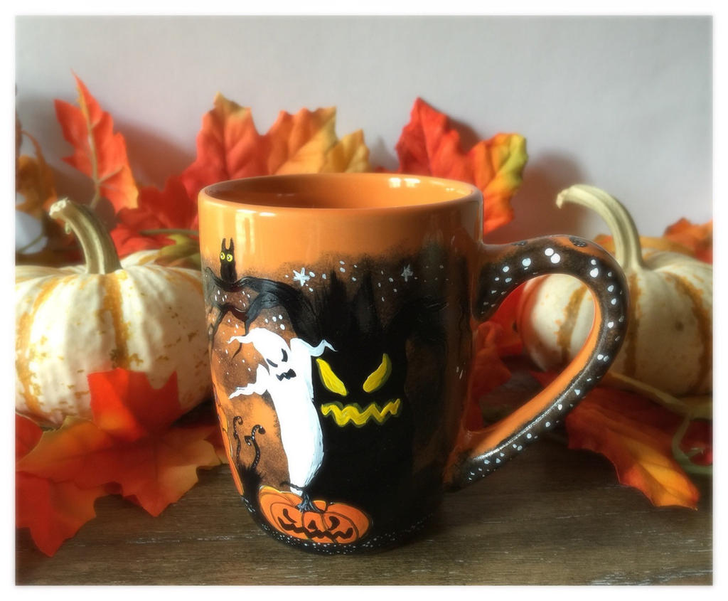 Halloween Coffee Mug by InkyDreamz