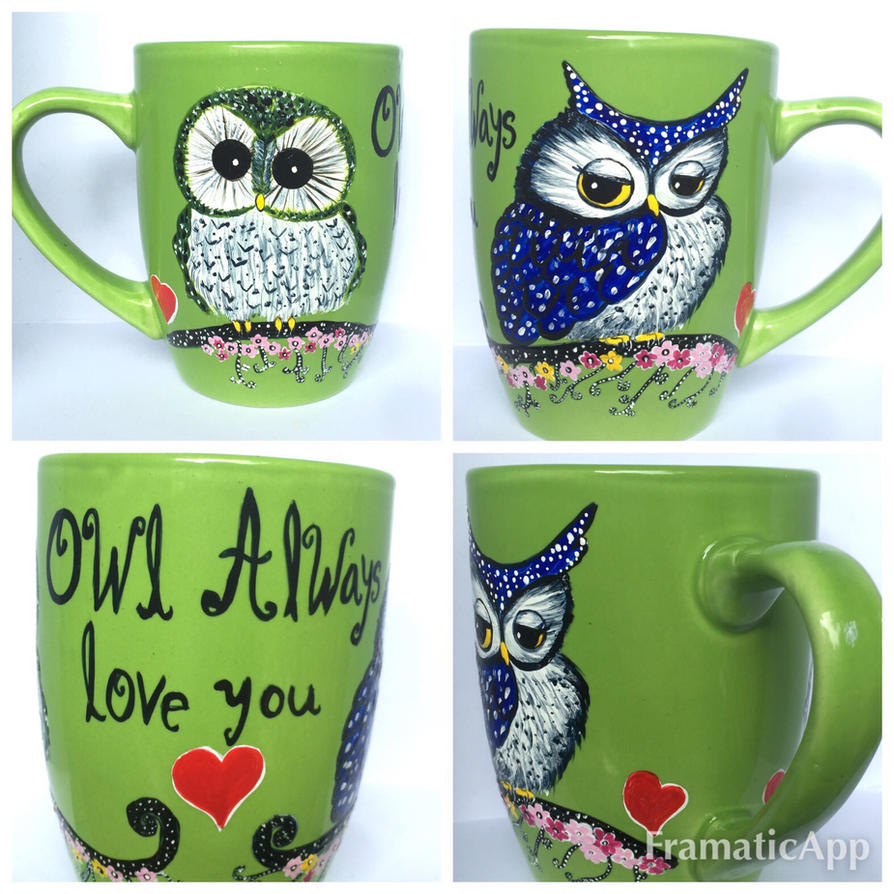 Owl Always Love You Coffee Mug For Sale By Inkydreamz On