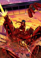 GHOST IN THE SHELL ARAISE / MAJOR KUSANAGI by Phoenixboy