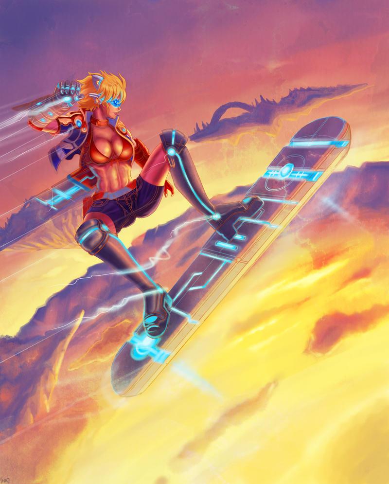 NIKO AT SKY by Phoenixboy
