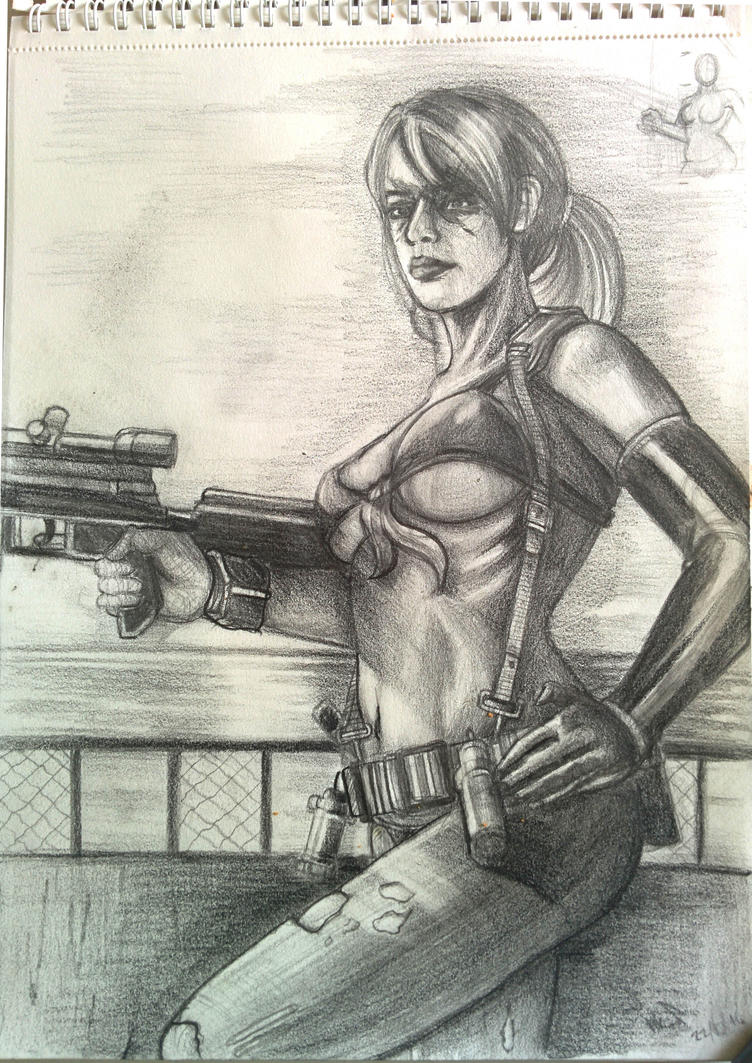 QUITE Metal Gear Solid 5 Traditional by Phoenixboy