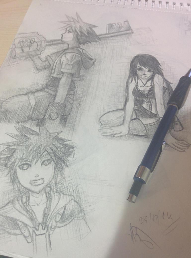 Sora Kingdom Hearts by Phoenixboy