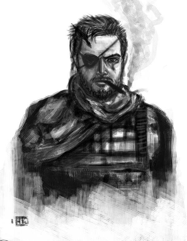Metal Gear Solid 5 Snake by Phoenixboy