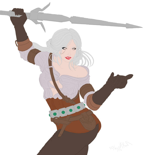 Ciri The Witcher 3 Base Colors by Phoenixboy