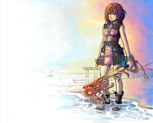 KAIRI Kingdom Hearts 3 Fan Art by Arc-Tempered-PhoeniX