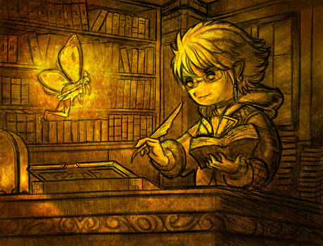 Scholar Lalafell Astral Commission