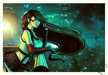 Tifa Final Fantasy VII Fan Art by Arc-Tempered-PhoeniX