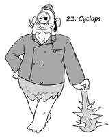 Monster a Day 23- Cyclops