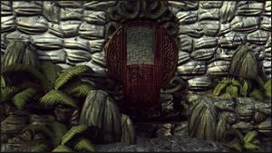 3D: Japanese Door