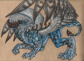 New OC - Dragon by toshema