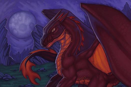 Night of red crimson