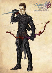 Avatar Wars: Cyric, colored by Johndowson
