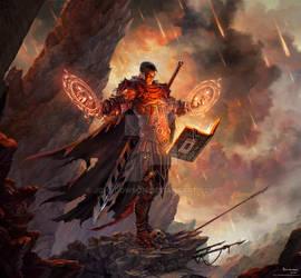 Commission: Steel Flameblade