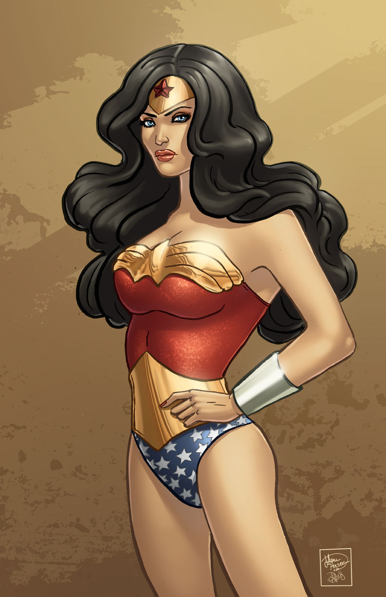 WonderWoman.Colored. by Jojomonsterz