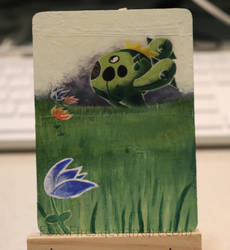 Cacnea Pokemon Card Alter by FoxxFires