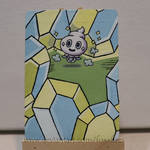 Vanillite Pokemon Card Alter by FoxxFires