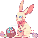 easter bunny [f2u pixel] by qrasshole