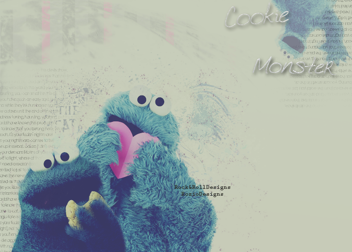 Cookie Monster Wallpaper by RoziRose on DeviantArt