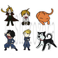 FMA pin ideas by Shirozora