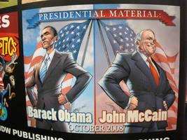 IDW: Obama and McCain by Shirozora
