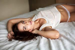 rest time (model test shot) by Aledgan