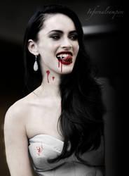 Megan The Vampire by KittieVampire